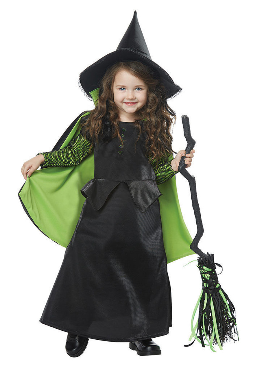 California Costumes Wicked Witch Of Oz Girls Toddler Halloween Costume 00180  sc 1 st  Fearless Apparel & California Costumes Wicked Witch Of Oz Girls Toddler Halloween ...