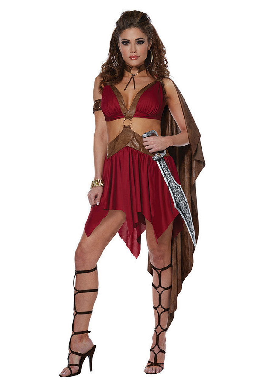 california costumes warrior goddess roman adult womens halloween costume 01484