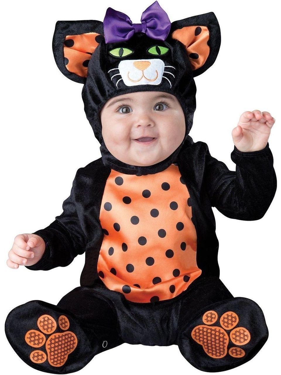 incharacter mini meow pet kitty cat animal infant baby halloween costume 16056