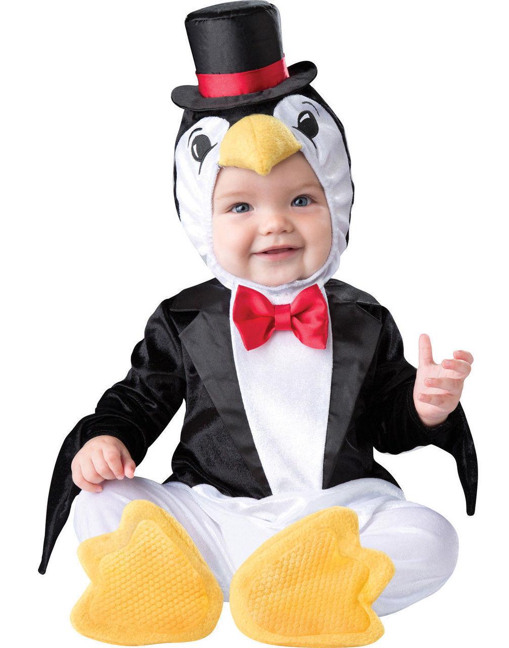 incharacter playful penguin animal snow infant baby halloween