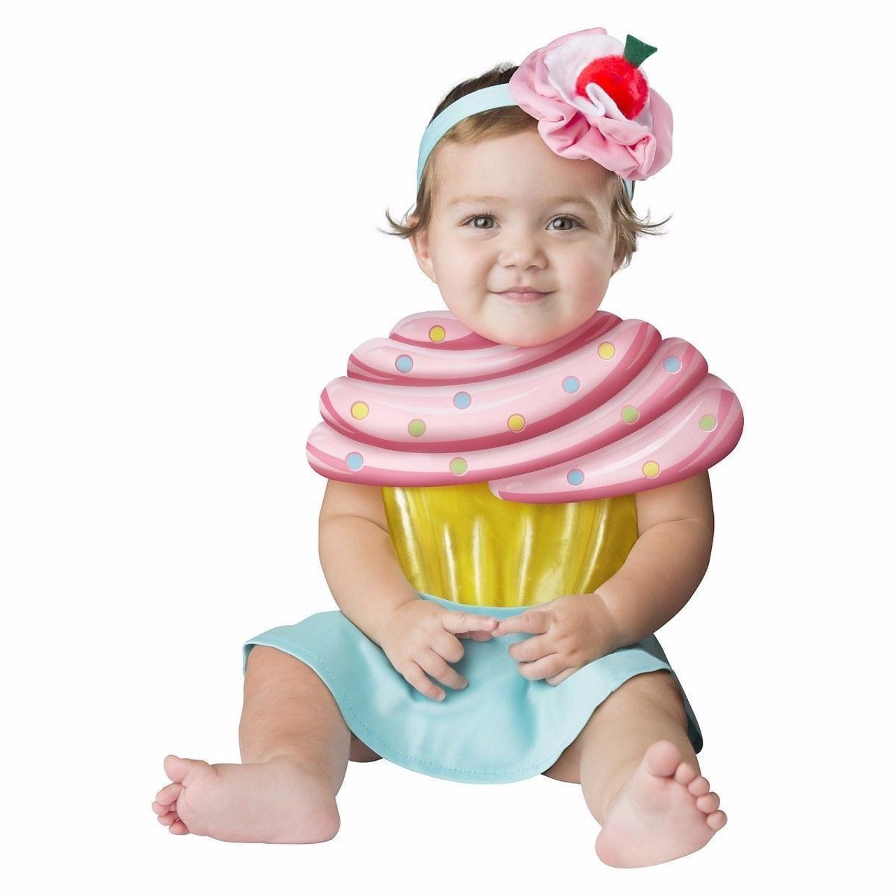 Incharacter Cupcake Cutie Candy Sweet Girls Infant Baby Halloween Costume 16074  sc 1 st  Fearless Apparel & Incharacter Cupcake Cutie Candy Sweet Girls Infant Baby Halloween ...