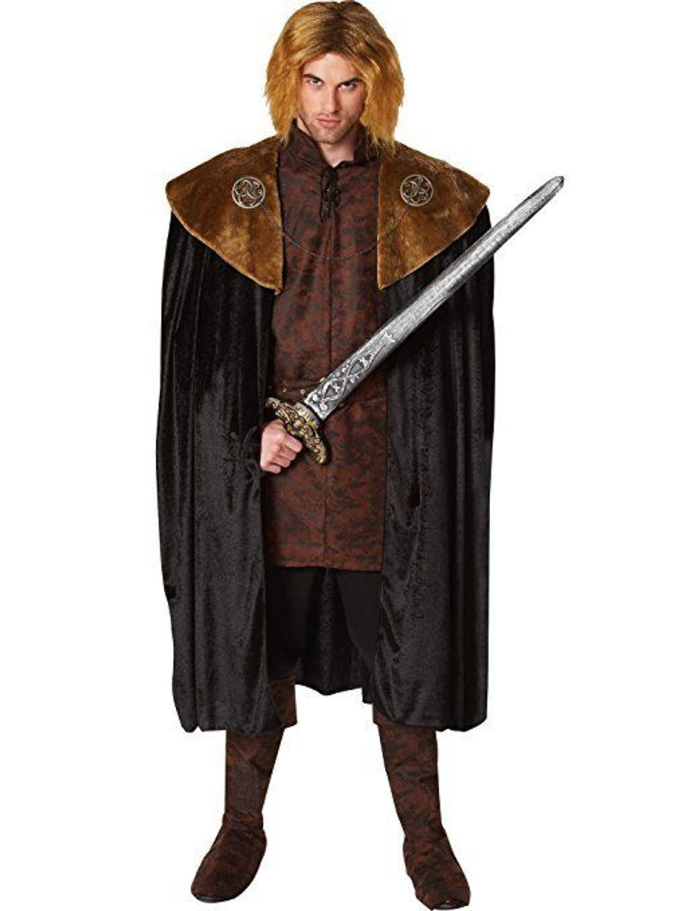 Costume Culture Franco Medieval King Cape Adult Mens Halloween Costume 32376  sc 1 st  Fearless Apparel & Costume Culture Franco Medieval King Cape Adult Mens Halloween ...