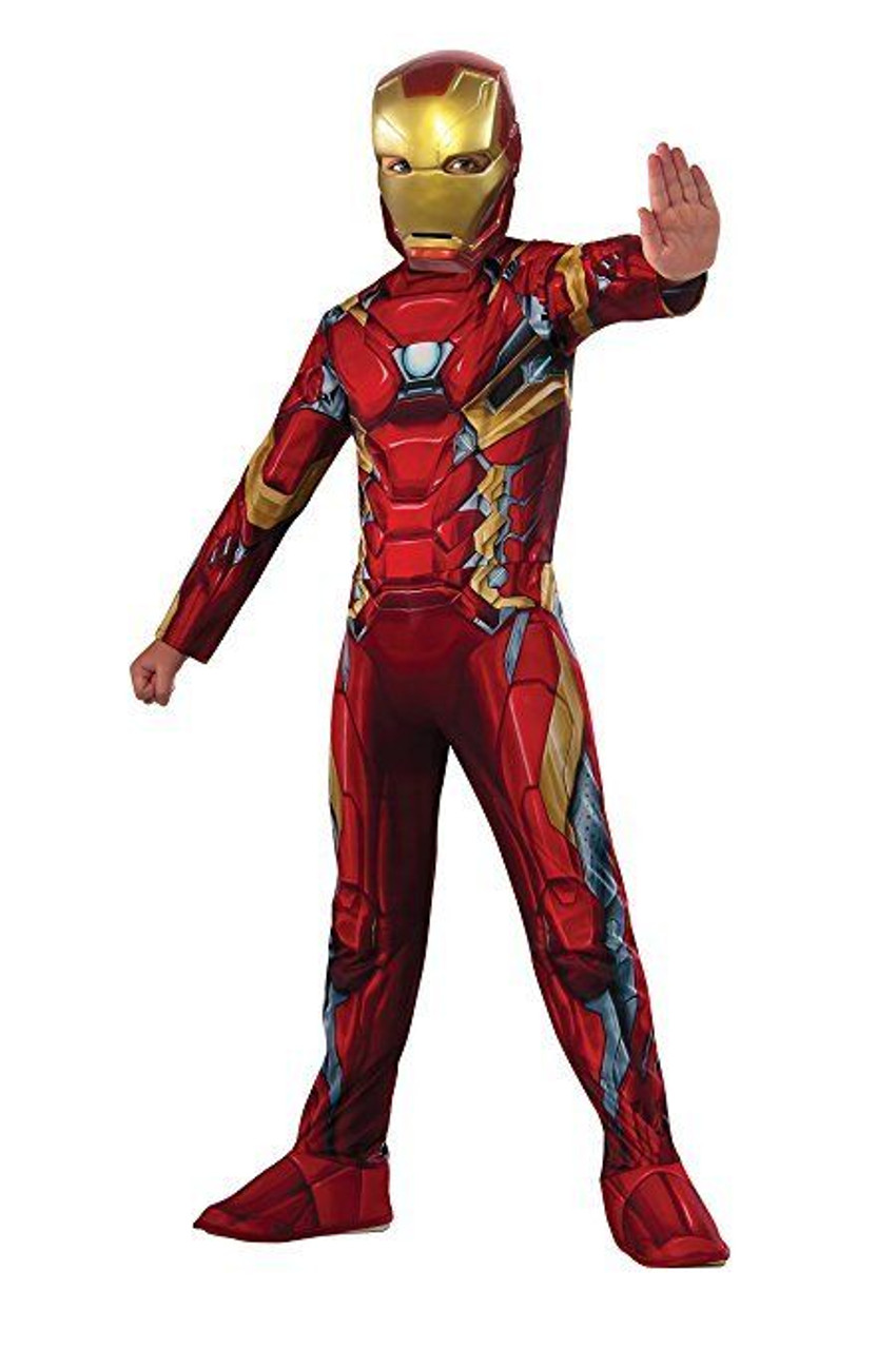 rubies captain america civil war iron man avengers kids halloween costume 620581
