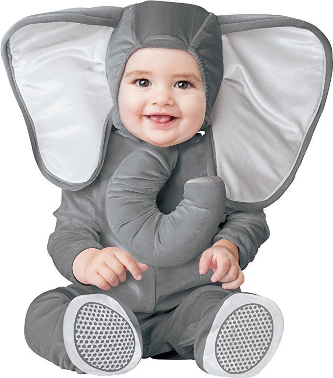 Incharacter Baby Elephant Animal Zoo Grey Infant Toddler Halloween Costume 16069  sc 1 st  Fearless Apparel : puppy halloween costume toddler  - Germanpascual.Com