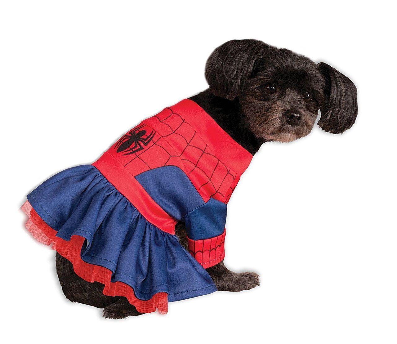 rubies marvel spider girl super hero comic movies dog halloween costume 580067