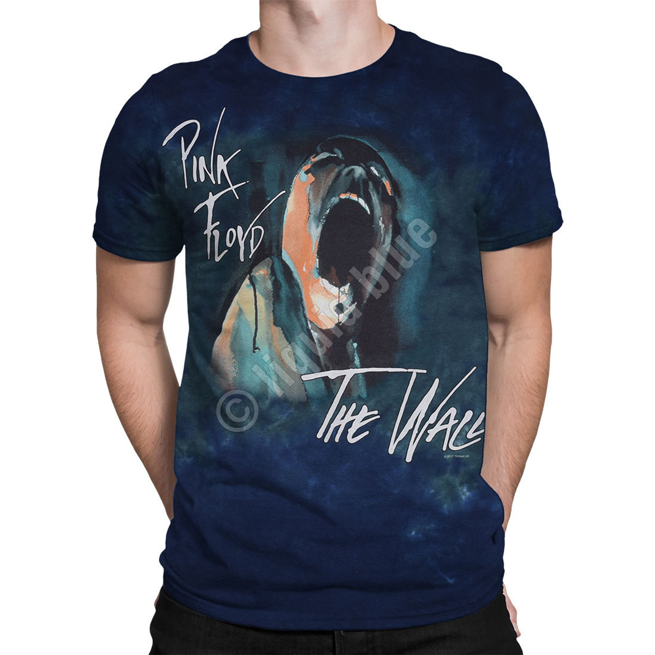 Pink Floyd Screaming Face The Wall Music Rock Band Adult Mens T Tee Shirt 11856