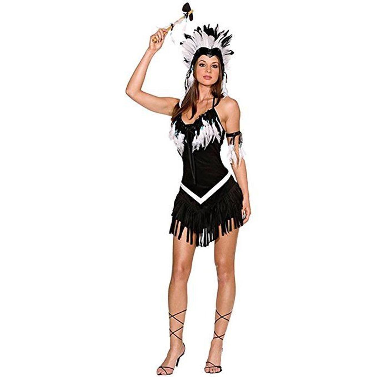 dreamgirl tribal princess native american adult womens halloween costume 5076