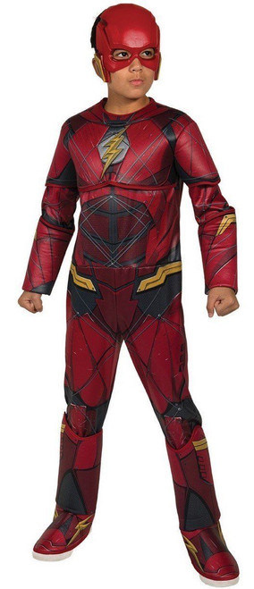 Rubies Dc Comics Flash Deluxe Muscle Chest Child Boys Halloween Costume 630977  sc 1 st  Fearless Apparel & Rubies Deluxe Flash Muscle Chest DC Comics Adult Mens Halloween ...