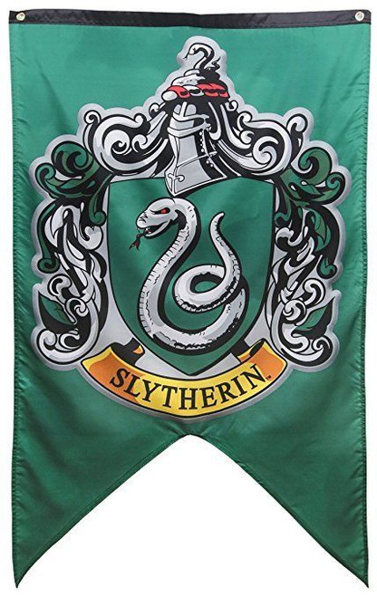 ... Harry Potter Hogwarts Gryffindor Slytherin House Crests Wall Banner  Gift Set ...