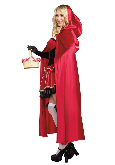 dreamgirl little red riding hood adult womens halloween costume plus size 9477