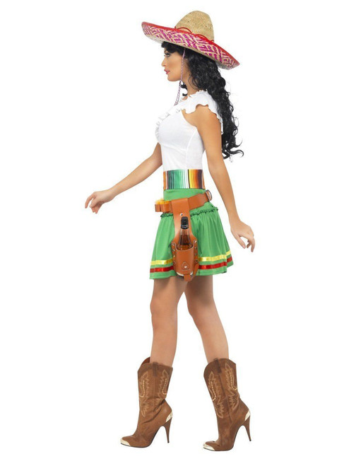 ... Smiffys Tequila Shooter Girl Mexico Cinco De Mayo Womens Halloween Costume 29132 ...  sc 1 st  Fearless Apparel & Smiffys Tequila Shooter Girl Mexico Cinco De Mayo Womens Halloween ...
