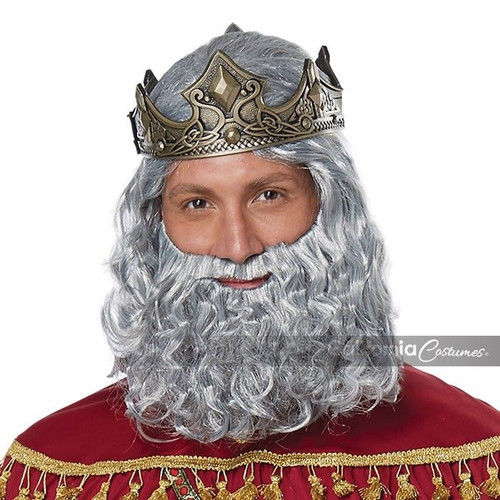 california costumes biblical king wig beard adult halloween costume 70921