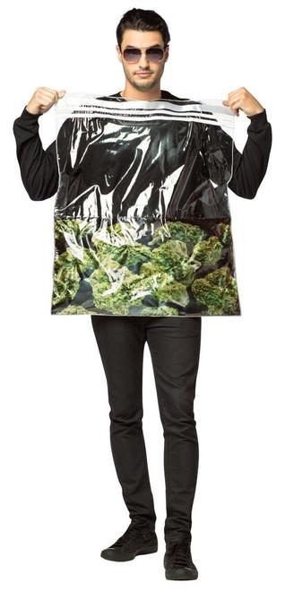 Rasta Imposta Bag Of Weed 420 Pot Dope Adult Mens Halloween Costume GC6940 ...  sc 1 st  Fearless Apparel & Rasta Imposta Bag Of Weed 420 Pot Dope Adult Mens Halloween Costume ...
