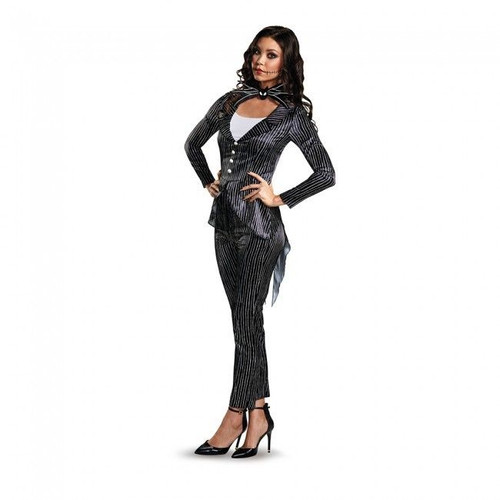 nightmare before christmas jack skellington deluxe adult halloween costume 14037 - Nightmare Before Christmas Halloween Costume