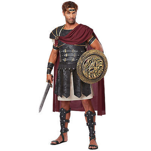 adult mens roman gladiator ancient warrior soldier rome halloween costume s xxl
