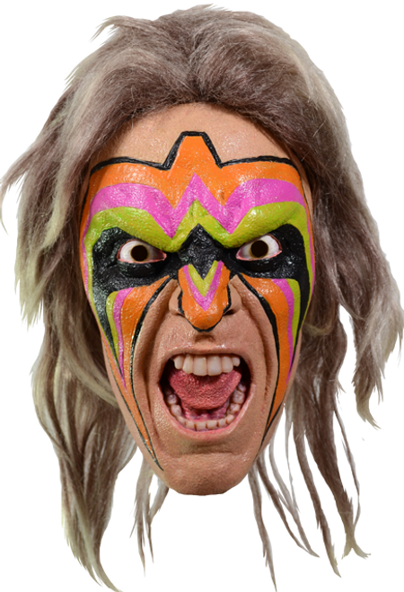 Wwe world wrestling entertainment ultimate warrior halloween costume wwe world wrestling entertainment ultimate warrior halloween costume mask solutioingenieria Gallery