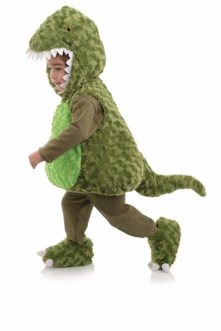Underwraps T-Rex Dinosaur Green Child Belly Babies Boys Halloween Costume 26109
