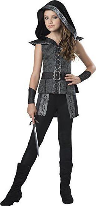 Incharacter Dark Woods Huntress Brocade Girls Tween Halloween Costume 18096