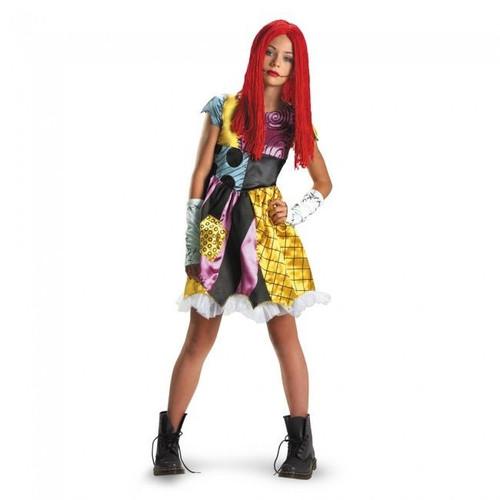 Disguise Nightmare Before Christmas Movie Sally Tween Halloween Costume 36463 ...  sc 1 st  Fearless Apparel & Disguise Nightmare Before Christmas Movie Sally Tween Halloween ...