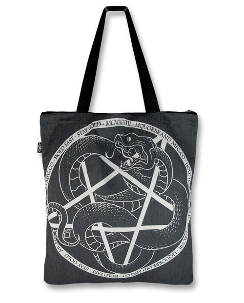 Tote Bag - Embossed Pentagram by VIDA VIDA LnAUru7pBF