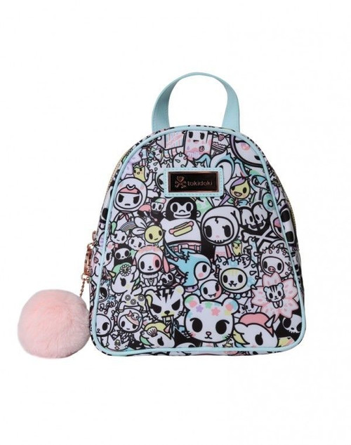 Tokidoki Holiday Pastel Pop Collection Chibi Mini Backpack Bag TK1704307MLTNS