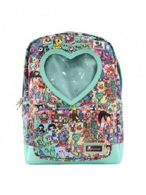 Tokidoki California Dreamin' Golden State Cali Heart Window Book bag Backpack