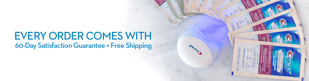 Free Shipping on all orders through Crest White Smile
