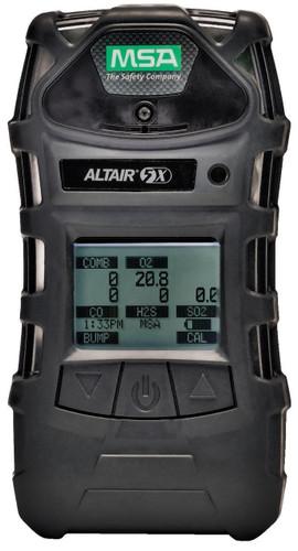 MSA ALTAIR 5X Multigas Detector [LEL, O2, Co, H2S, SO2] - 10116925