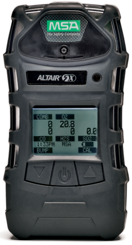 MSA ALTAIR 5X Multi-Gas Detector Mono-Chrome & Probe - 10116927