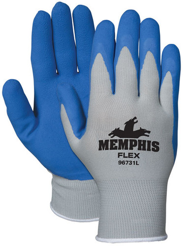 Memphis Flex Blue Foam Latex 96731 - Dozen [S-XL]
