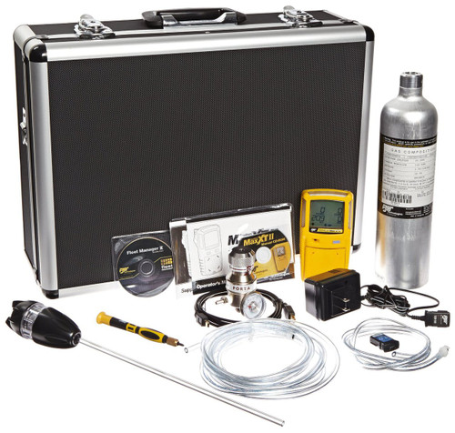 BW GasAlertMax XT II Multi-Gas Detector Confined Space Kit XT-XWHM-Y-NA-CS [LEL, o2, co, H2S]