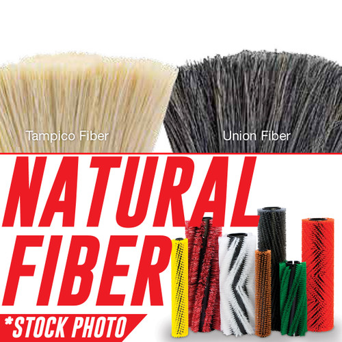 "33018859: 35"" Cylindrical Brush 6 Double Row Union fits Advance-Nilfisk Models CS7000, Proterra"