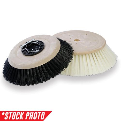 "33018889: 10"" Side Broom 2 Single Row Poly/Wire Side fits Advance-Nilfisk Models Proterra"