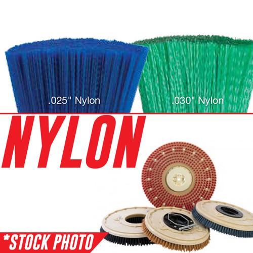 "11"" Rotary Brush .028"" Nylon fits International Cleaning Equipment Models i24"