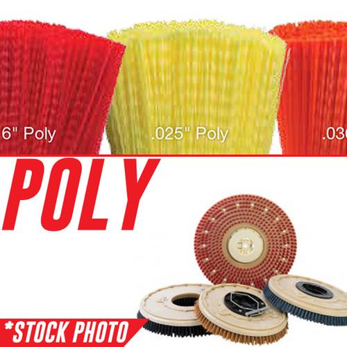 "13-421P: 12"" Rotary Brush .028"" Poly fits Tomcat Models 2500D, GTX 26D, Magnum 26D, RS 26"
