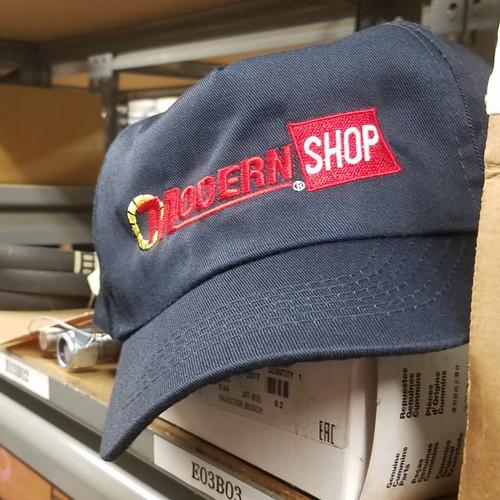 Modern Shop Cap | Navy Blue
