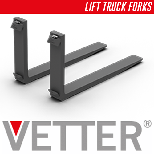 "IMP15065244041271: 96"" x 6"" x 2.5"" Forklift Forks"