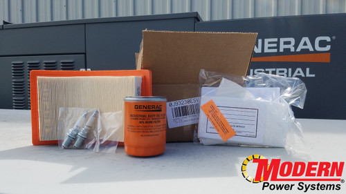 0J93230ESV: Genuine Generac Home Standby Generator Maintenance Kit For 20kW Evolution Control