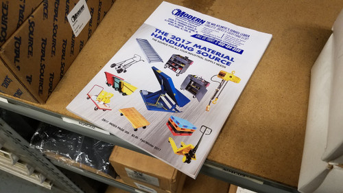 2017 Modern Warehouse Products Catalog