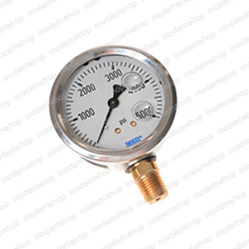 01021000: Terex GAUGE-PRESSURE-0-4000 PSI