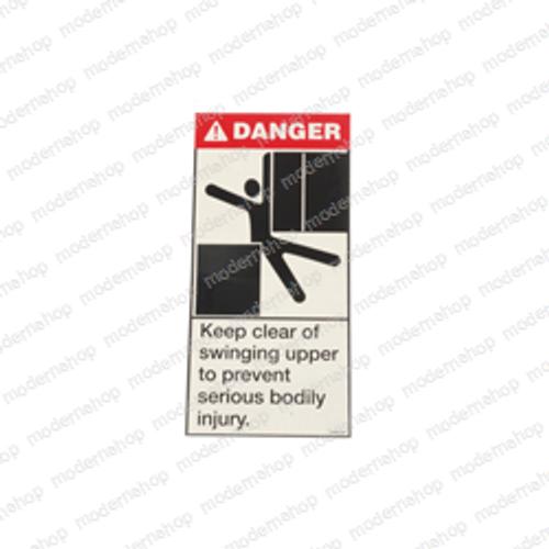 12400-223: EPW DECAL - DANGER