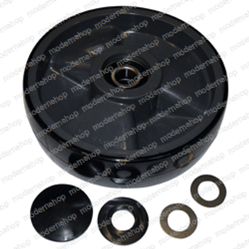 47-2: Palletmaster WHEEL ASSEMBLY - POLY STEER