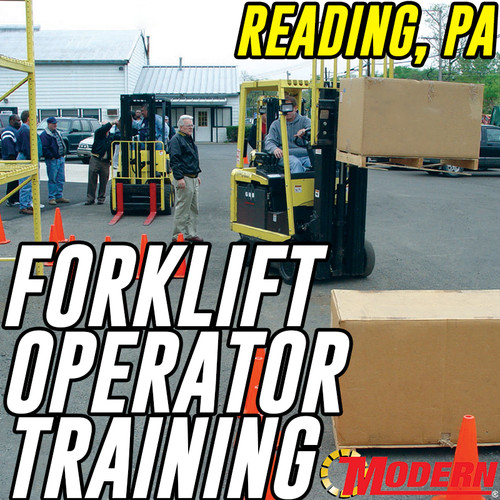 11/06/2018 | Reading, PA - Forklift Operator Safety Training
