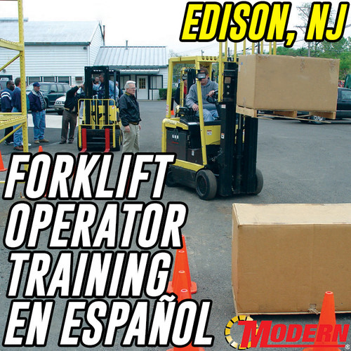 11/05/2018 | en español - Forklift Operator Safety Training - Edison, NJ