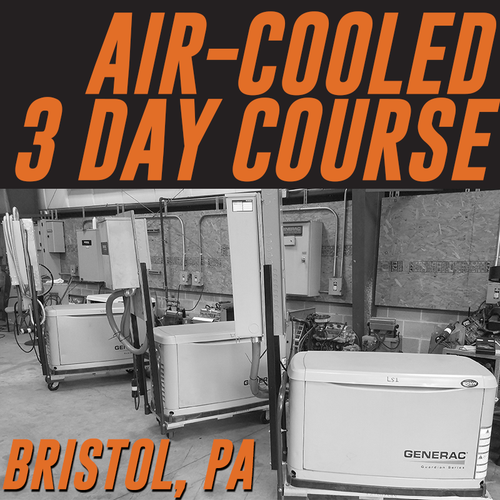 11/28/2018-11/30/2018   Bristol, PA - Generator Air-Cooled 3 Day Course Field