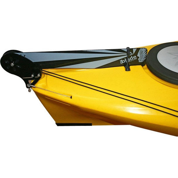 Perception and Dagger Solo Rudder Kit