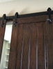 "The ""Mars"" - Star design - sliding barn doors hardware"