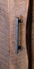 "13"" industrial door pull - raw steel finish"