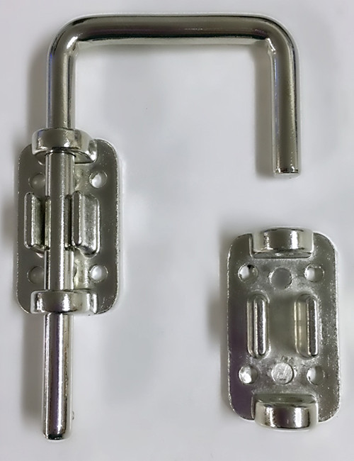 "4"" Zinc Plated Door Lock"