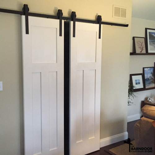 ... Double Door Sliding Barn Door Hardware Kit ...